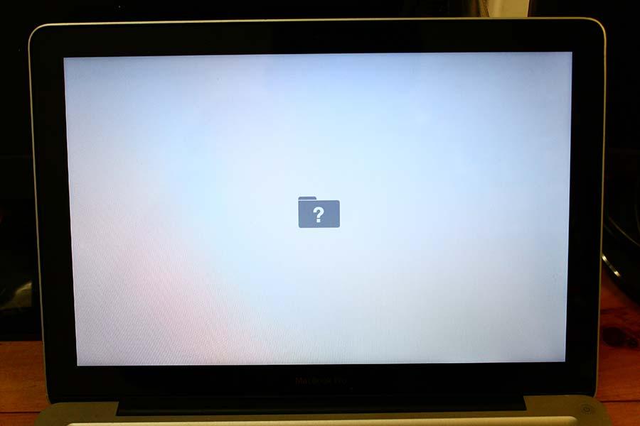 hard disk not working on mac